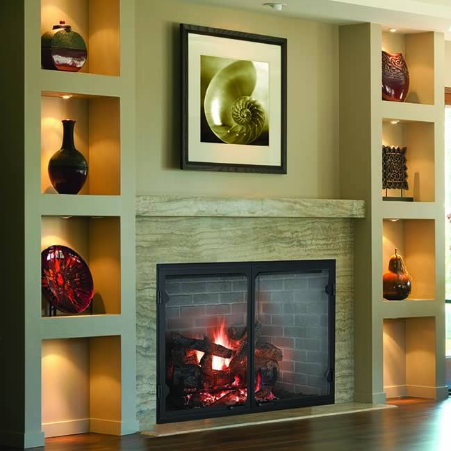 Biltmore 50 Wood Burning Fireplace By Majestic Fine S Gas