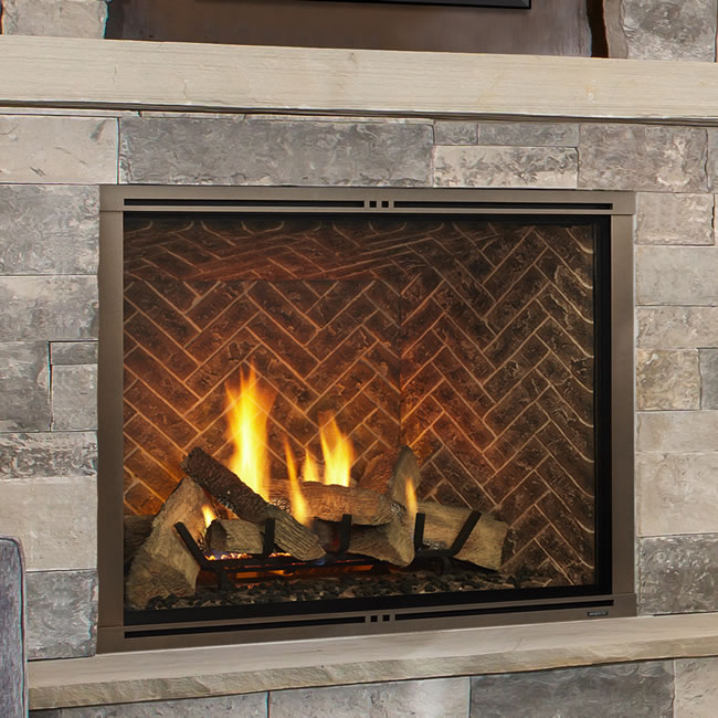 Marquis Ii 36 Clean Face Direct Vent Fireplace By Majestic