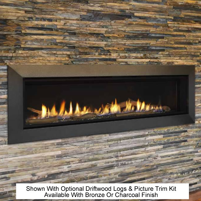 Majestic Wide View Echelon Ii Direct Vent Fireplace 60
