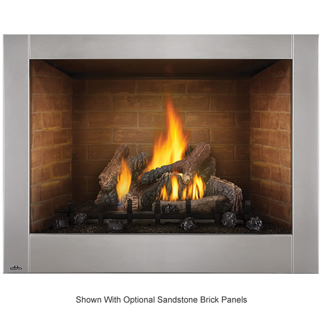 Napoleon 42 Quot Outdoor Clean Face Gas Fireplace Fine S Gas