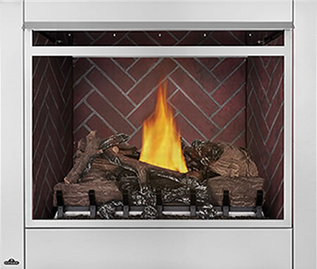 Deluxe Firebox Traditional Brick Liner
