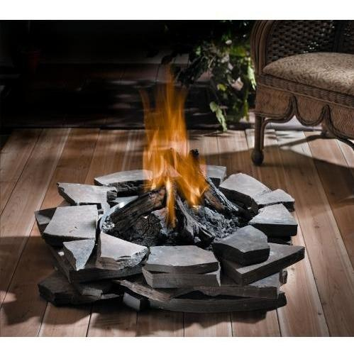 Napoleon Gas Log Fire Pit Fire Pits For Decks Fine S Gas