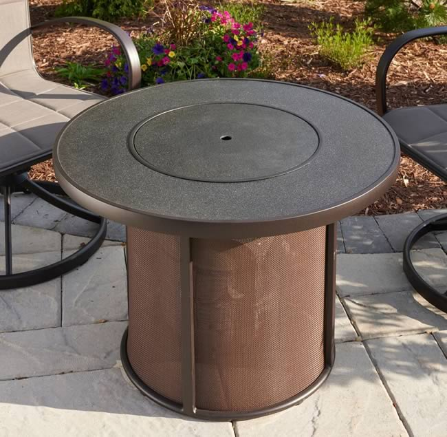Stonefire Kitchen: Outdoor Greatroom Stonefire Fire Pit Table