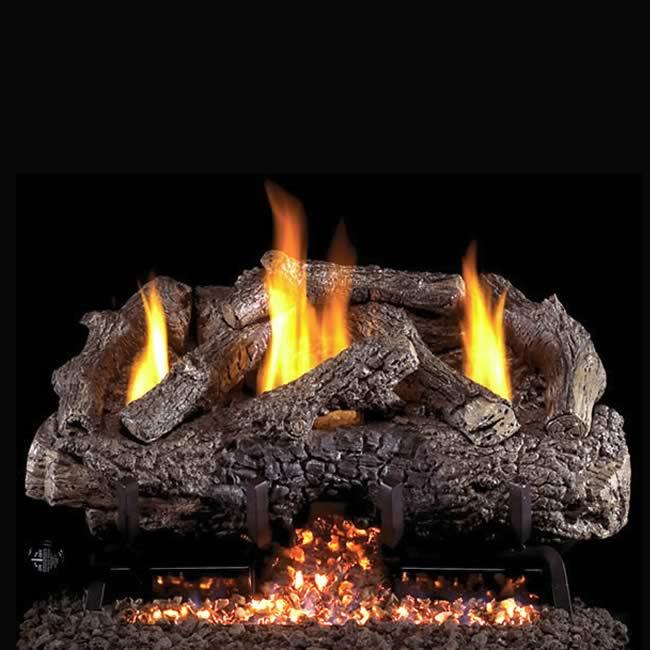 rh peterson charred frontier oak 30 vent free gas log fine s gas rh finesgas com  rh peterson gas fireplace inserts