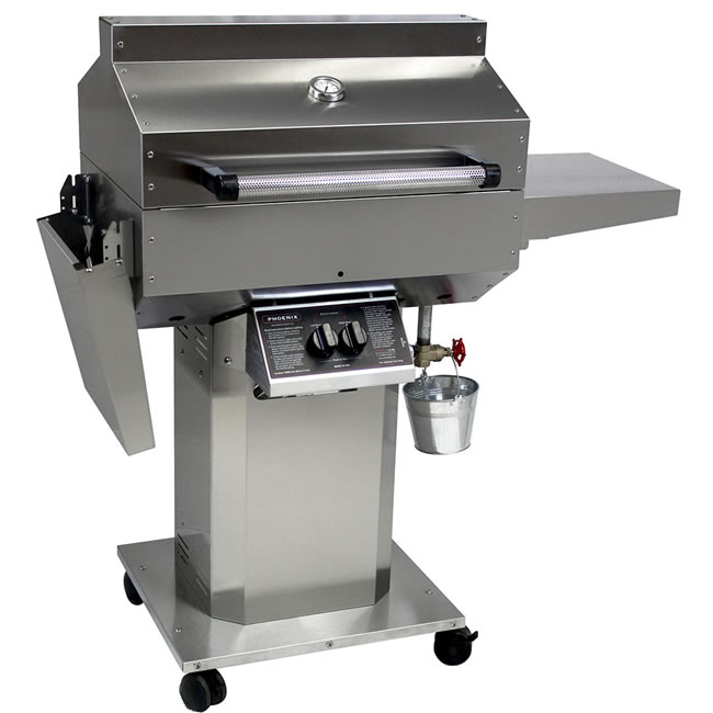 Pheonix Gas Grill With Stainless Cart Amp Head Fine S Gas