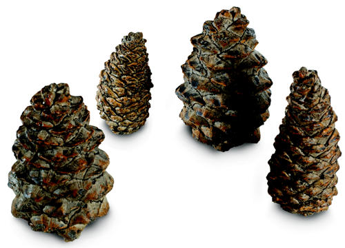 Assorted Gas Log Fireplace Pine Cone Kit Fine S Gas