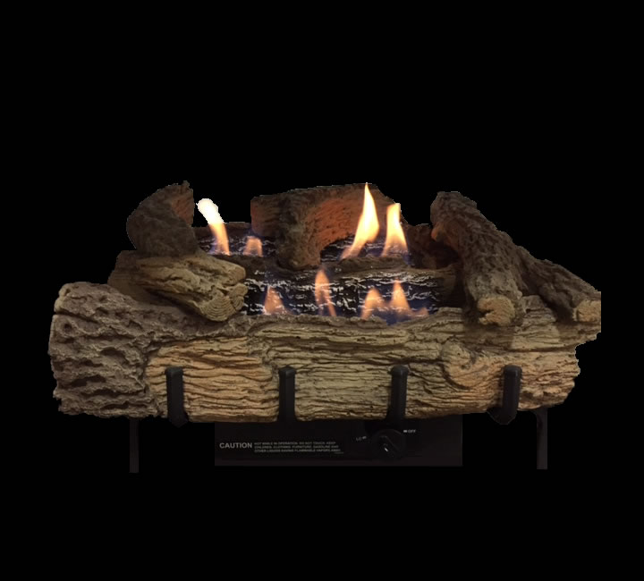 Builders Series 30 Inch Vent Free Gas Log Set Remote Ready