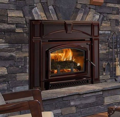 Quadra Fire Voyageur Grand Wood Fireplace Insert With