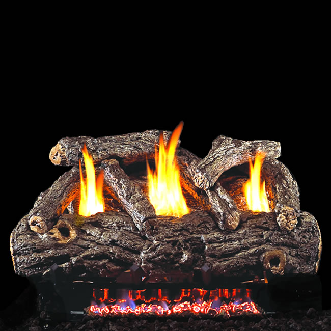 Rh Peterson Real Fyre 24 Inch Golden Oak Logs Fine S Gas