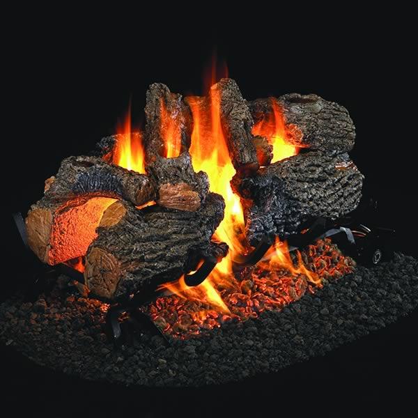 Rh Peterson 18 Inch Charred Oak Vented Log Set Fine S Gas