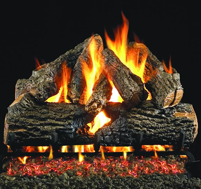 rh peterson 24 inch charred oak vented log fine s gas rh finesgas com