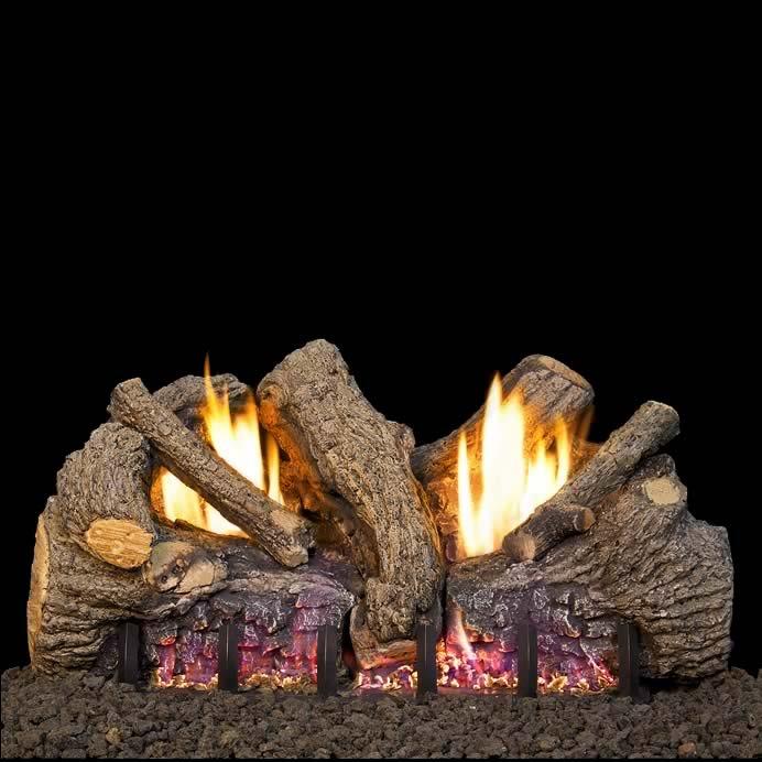 rh peterson 18 inch foothill oak gas logs fine s gas rh finesgas com rh peterson gas fireplace inserts