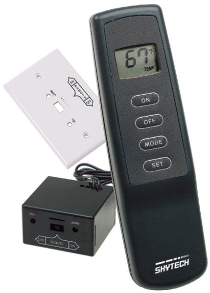 Skytech Thermostat Remote Control For Gas Logs Fine S Gas