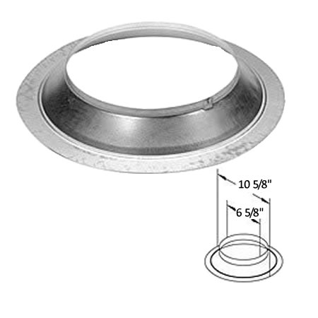 Duravent Storm Collar For 4 X 6 5 8 Pipe Fine S Gas