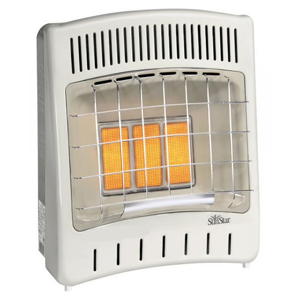 Sunstar 18 000 Btu Infrared Radiant Space Heater Fine S Gas