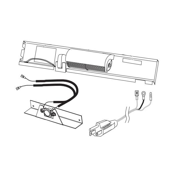 Sunstar Thermostatic Blower Kit For 30 000 Btu Heaters