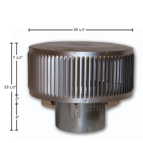 Chimney Cap For 8dm Series Vent Pipe Fine S Gas