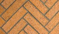 Red Split Herringbone Firebrick