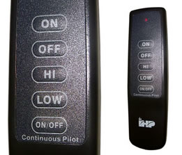 Variable Flame Height Remote Control