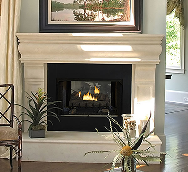 Superior Vent Free See Thru Fireplace Fine S Gas