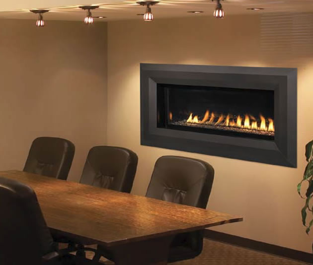 Superior Vent Free Linear Luminary Fireplace Fine S Gas