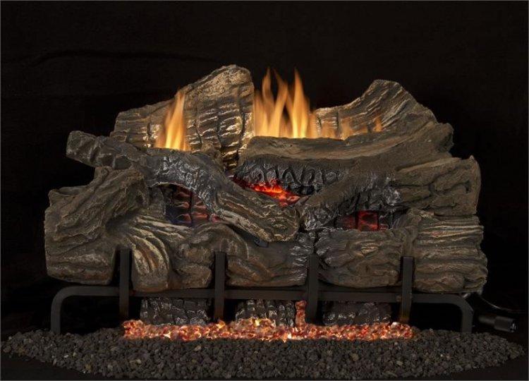 Superior Fireplaces 24 Quot Smokey Mountain Thermostat Gas Log