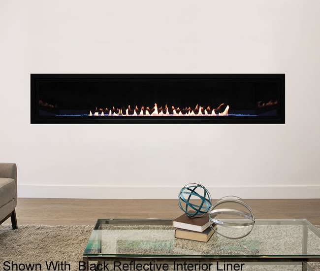 Boulevard 72 Inch Vent Free Linear Fireplace Fine S Gas