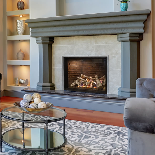 Rushmore 40 Inch Truflame Direct Vent Fireplace Fine S Gas