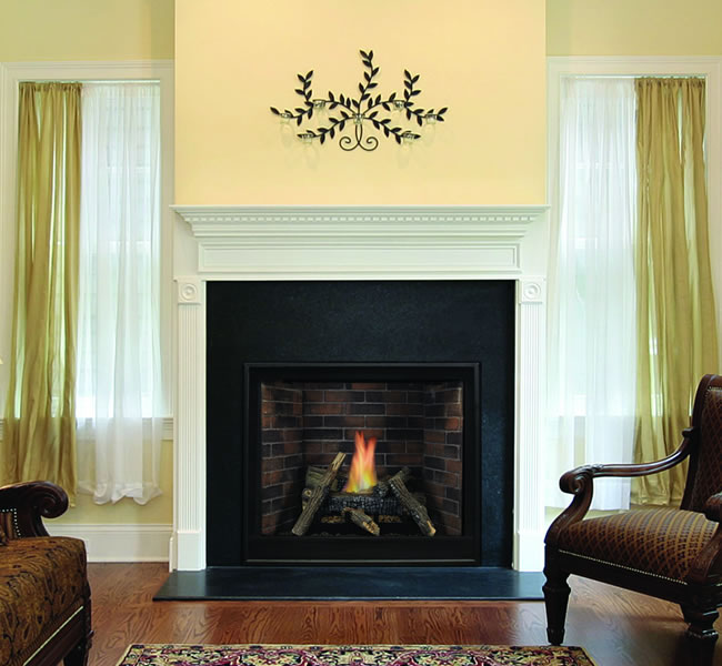 Tahoe Premium 32 Inch Clean Face Direct Vent Fireplace
