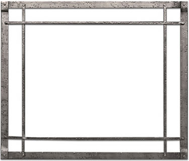 White Mountain Rectangle Forged Iron Front